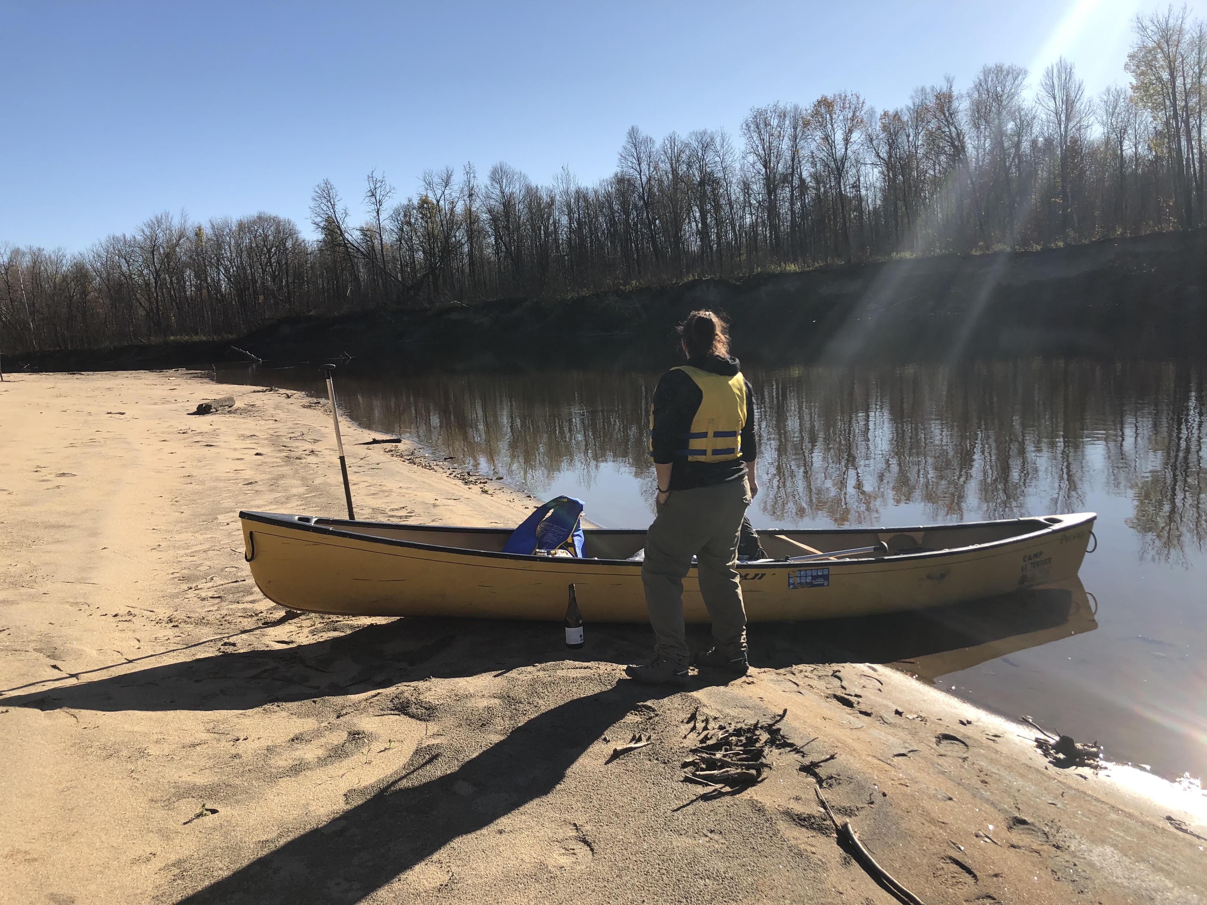 Informations canot-camping Aigle/Désert